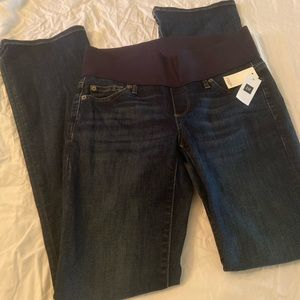 Gap Maternity Demi Panel Jeans